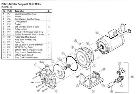 ao smith motor parts diagram polaris pb4 60 booster parts diagram