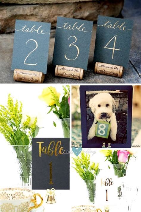 wedding table number ideas 51 unique table number ideas for wedding receptions and diys