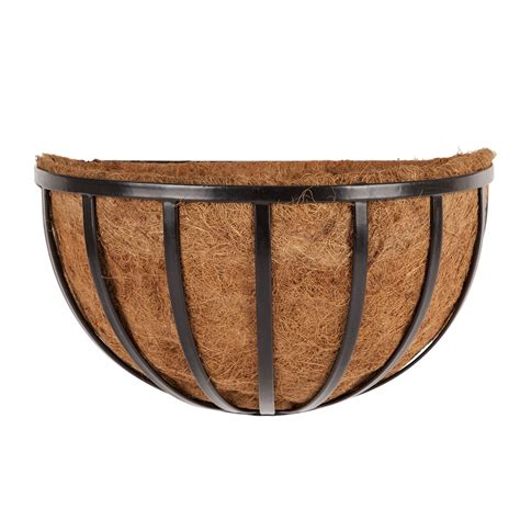 half planters wall planter baskets with liners