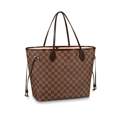 Louis Viton neverfull mm damier ebene canvas handbags louis vuitton
