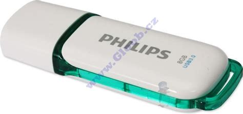Flasdisk Philips philips usb flash disk 8gb snow 3 0 fm08fd75b 10 gloob cz