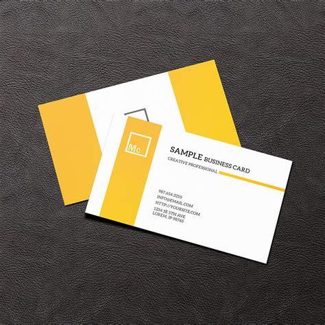 card design mockup 21 business card mockups psd download design trends