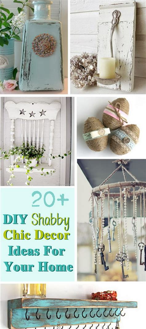 Shabby Chic Home Decor Ideas by 20 Diy Shabby Chic Decor Ideas For Your Home Noted List