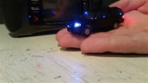 remote cars with working lights 1 87 ho scale rc car with working lights and siren