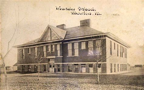 lincoln school history marion illinois history preservation