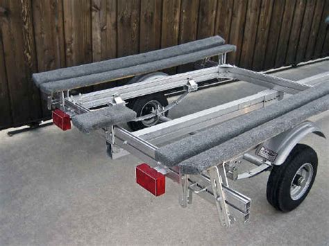 boat trailer undercarriage castlecraft trailer for inflatable boat and rib trailex