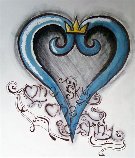 kingdom hearts tattoo kingdom hearts idea tattoos