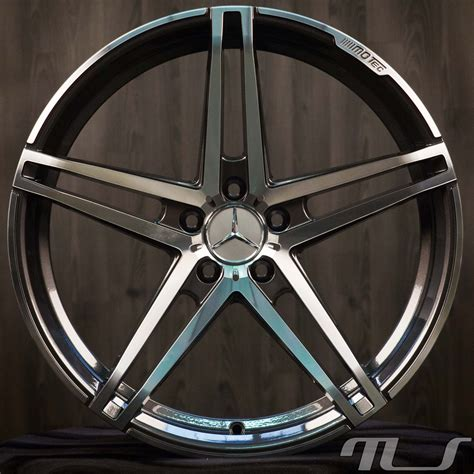 19 inch alloy wheels for mercedes a b c e cls class