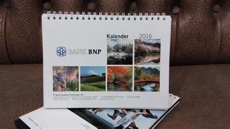 Cetak Kalender Meja 2017 Satuan cetak satuan kalender meja 2016 percetakan bekasi printing