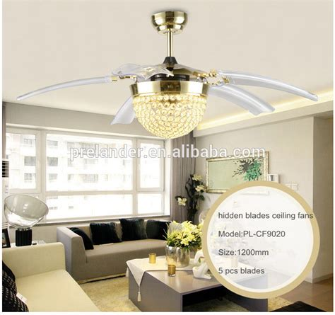 fancy ceiling fans with crystals ceiling fan blades transparent 5 blades