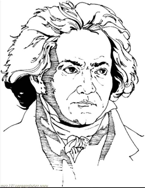 beethoven dog coloring page click the niccolo paganini coloring pages coloring page