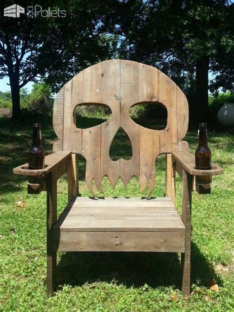 Skull Chair - pallet skull chair 1001 pallets