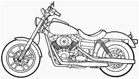 printable coloring pages motorcycles coloring pages motorcycle coloring pages free and printable