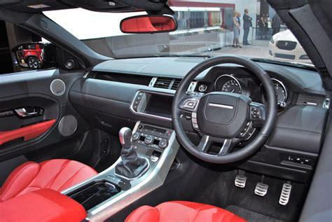 range rover concept interior 2012 geneva range rover evoque convertible concept