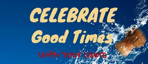 celebrate good times   users dori adar