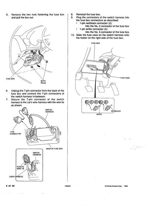 honda civic fog light wiring diagram free picture wiring