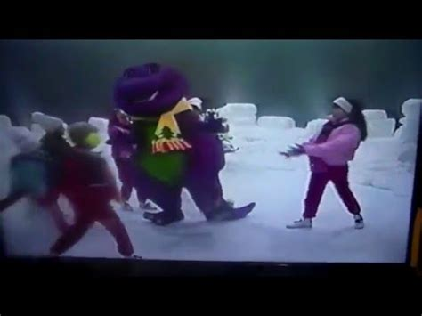barney goes to school agaclip make your