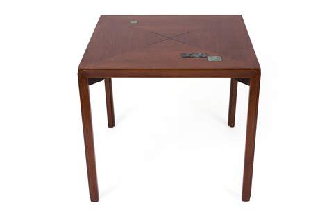 dunbar dining table edward wormley for dunbar dining table with natzler tiles