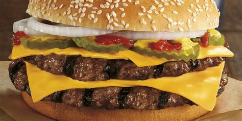 burger king launches new double quarterpound burger today