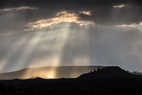 god and god rays and lighting