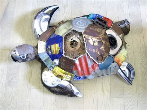 ls made from recycled materials 10 animal sculptures made from recycled materials