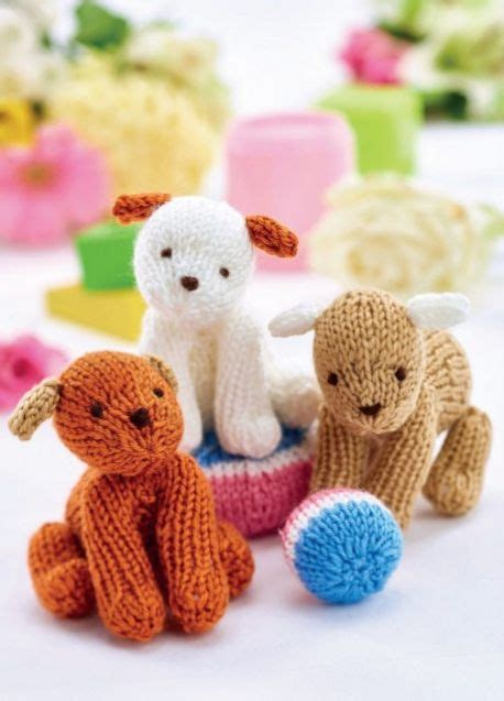 knitting pattern toy dog free 20 free toy dog knitting patterns to download now