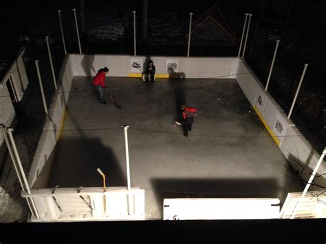 build a backyard hockey rink how to build a backyard ice rink sport resource group