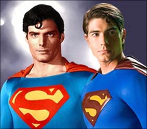 superman christopher reeve vs brandon routh brandon routh really does not look like chris reeve