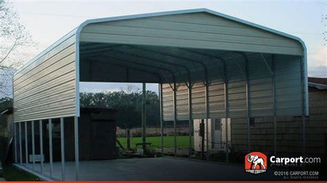 Carport Store 18x26 Carport With Metal Roof Shop Metal