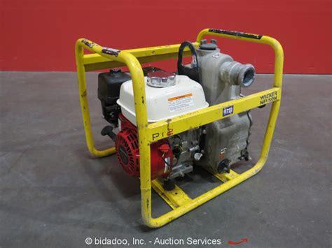 honda 5 5 hp water 2011 wacker pt2a 2 quot water trash 5 5 hp honda gas