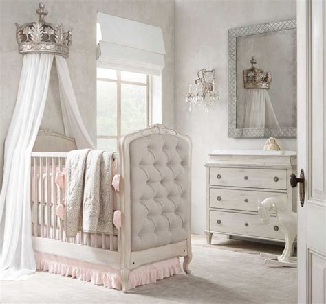 home goods to create a nursery fit for royalty bed crown