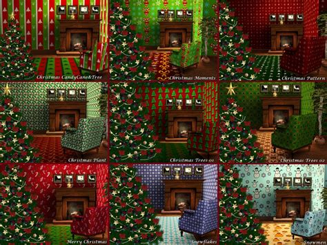 christmas decorations on sims 3 mod the sims patterns
