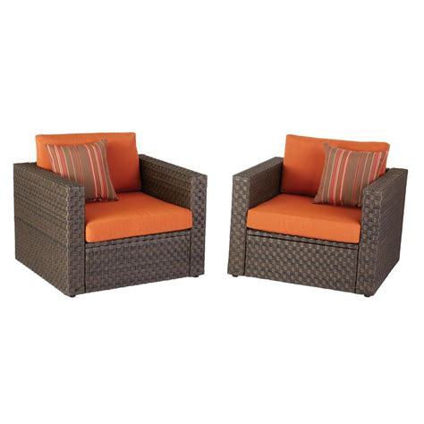 hton bay moreno valley 2 resin wicker patio