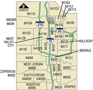 Slc Zip Code Map by Zip Codes By Map Of Slc Pictures To Pin On Pinterest
