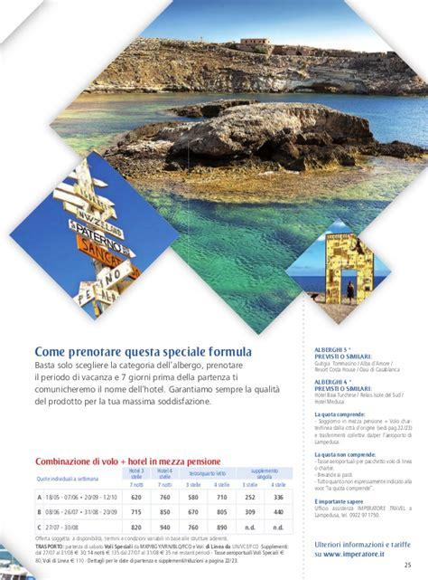 ledusa volo soggiorno catalogo le isole 2013 imperatore travel