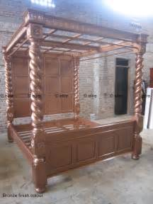 Canopy Beds King Size For Sale Or King Size Tudor Style Bed Mahogany Or Oak