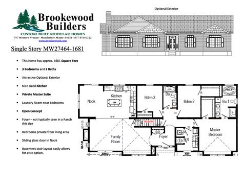 walkout rambler house plans ranch rambler house plan extraordinary plans with walkout basements basement daylight