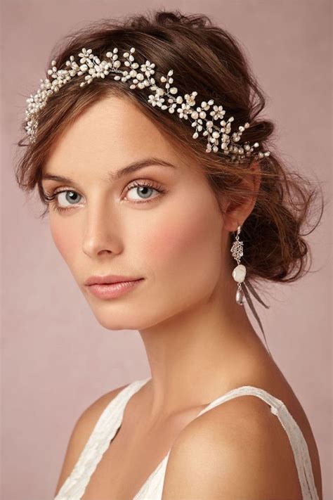 Wedding Hair Real Brides by Bridal Hair Accessories From Bhldn Modwedding
