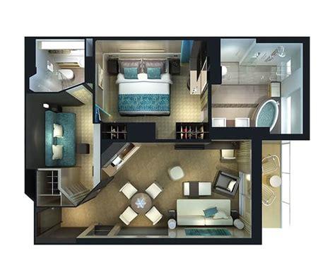 ncl epic 2 bedroom haven suite the haven norwegian cruise line