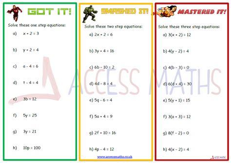 All Categories Access Maths