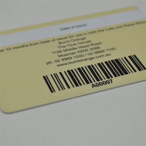 Gift Card Barcode - custom printed barcode cards membership barcode cards factory