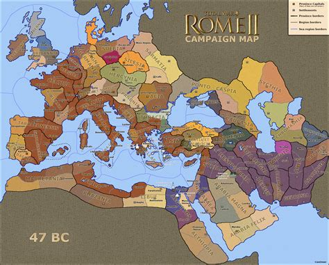 rome total war map total war rome 2 new map page 4