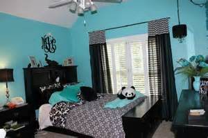 Blue Room Decor Blue Black And Wight Panda Room Kimi Blue Bedrooms Blue And Black Rooms