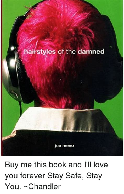 hairstyles of the damned book hairstyles of the damned joe meno buy me this book and i