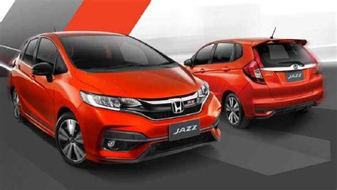 New Honda Jazz 2018 by 2018 Honda Jazz Facelift Debuts In Thailand Auto