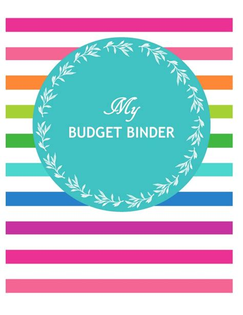 budget cover page template budget printables clipart best clipart best