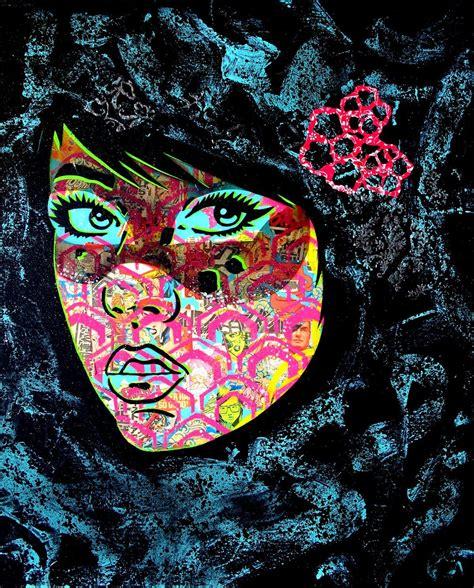 paper monster stencil graffiti art inspiration art