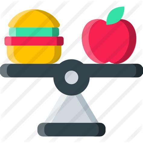 alimentacion equilibrada iconos gratis de comida