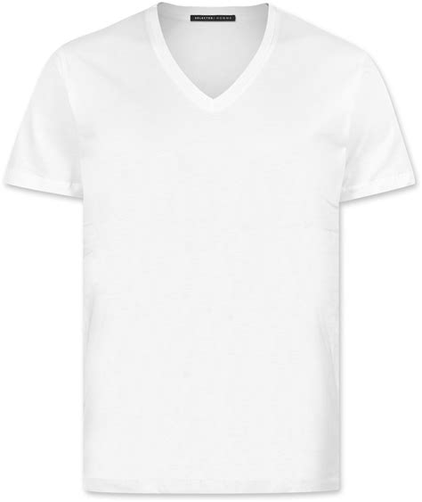 T Shirt White Selected Drill T Shirt White
