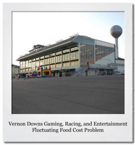 food and beverage troubleshooter vernon downs gaming